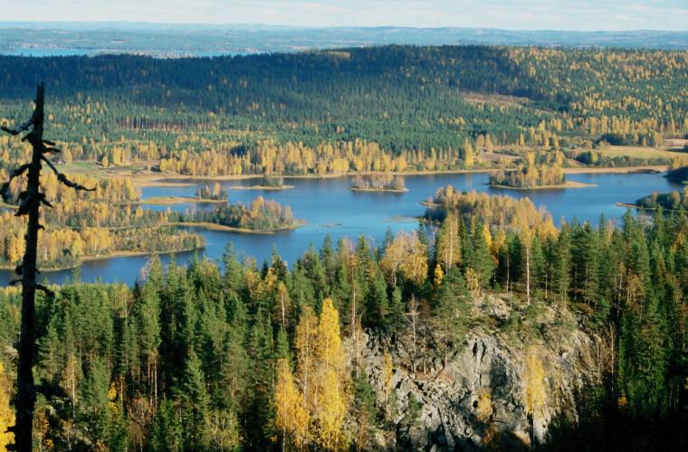 Herajärven syysmaisemia. Kuva: Herajärvi seura