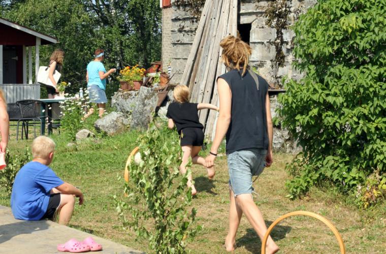 Lasten toimintapäivä kesällä 2014. Kuva: Jonna Tahvanainen