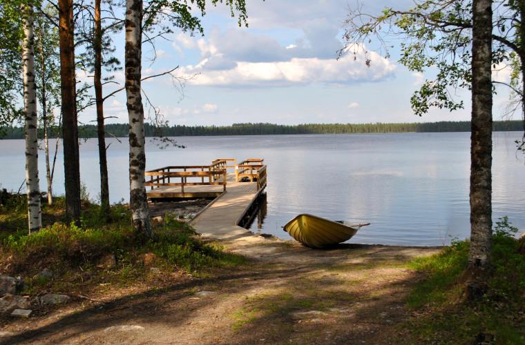 Tamminiemen uimapaikka (Kuva: Markku Halonen)