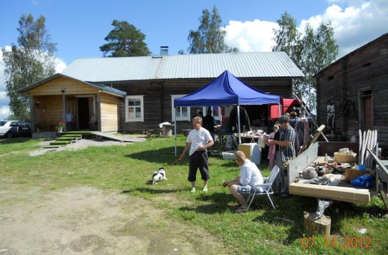 Rompepäivät kylätalolla (Kuva: Seppo Rantametsä)