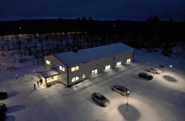 Ahmovaaran Monikäyttötalolla on monipuoliset harrastusmahdollisuudet.